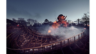 Alton Towers release images of new ride based on Wicker Man film